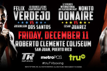 Felix Verdejo and Nonito Donaire Headline Season Finale Of Knockout Series