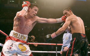 Anthony Crolla (left) Darleys Perez (right)