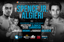 Behind the scenes: Spence-Algieri pre-fight