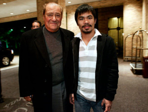 Bob Arum and Manny Pacquiao