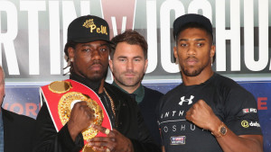 Anthony Joshua and Charles Martin