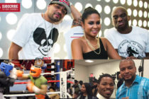 The Breakfast Club's Charlamagne and Nestor Gibbs, of Thaboxingvoice to Spar Shawn Porter