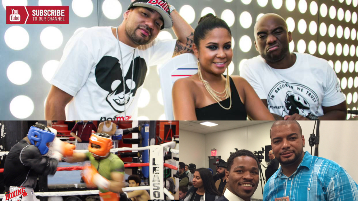The Breakfast Club's Charlamagne and Nestor Gibbs, of Thaboxingvoice to Spar Shawn Porter | Tha Boxing Voice