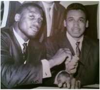 Frazier and Ramos in 1968, before their June 24th fight in Madison Square Garden.